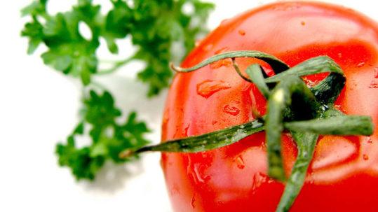 il pomodoro è un alimento ricco di licopene che conferisce il caratteristico colore rosso