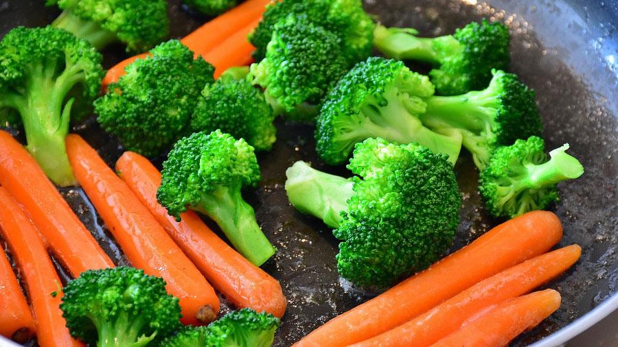 carote e broccoli se cotti prensetano maggiore biodisponibilità dei propri nutrienti