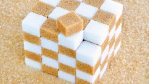 zucchero bianco e di canna