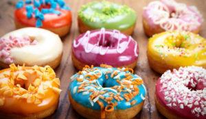 il bliss point del cibo spazzatura come queste donuts ci porta ad una continua ricerca di questi alimenti
