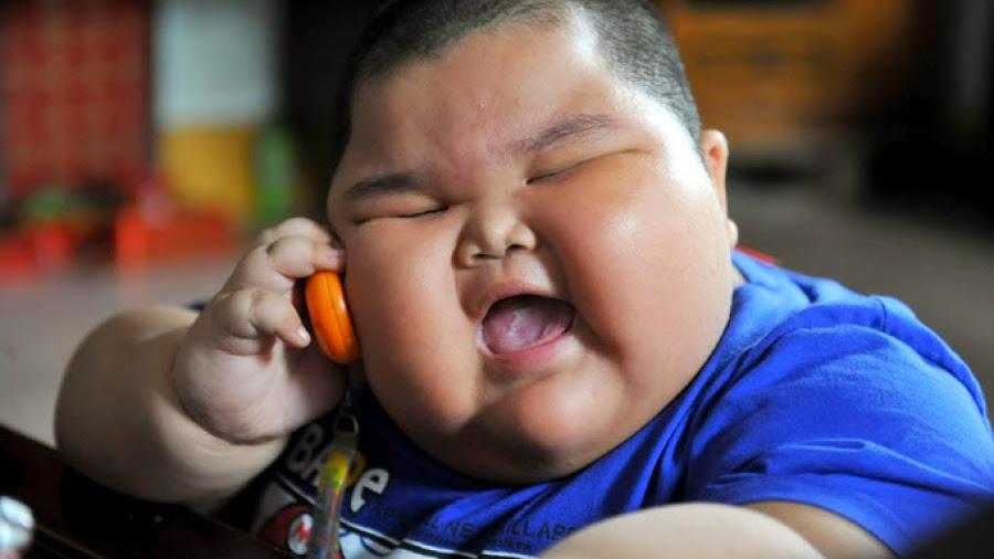 bambini obesi