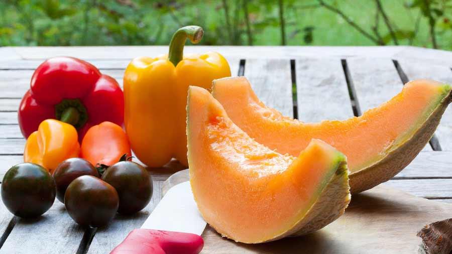 frutta e verdura ricca di carotenoidi
