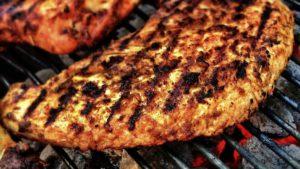 cottura eccessiva della carne alla griglia