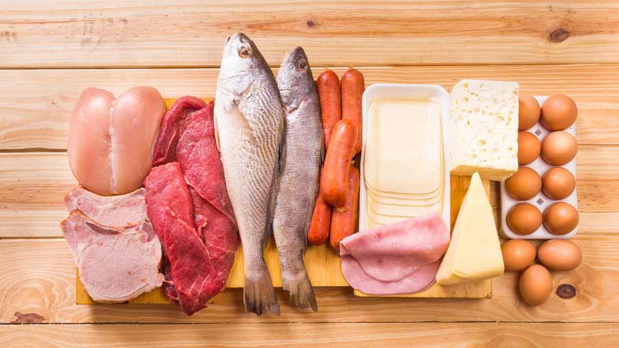 le diete iperproteiche prevedono un eccessivo consumo di pesce, carne, uova, latticini