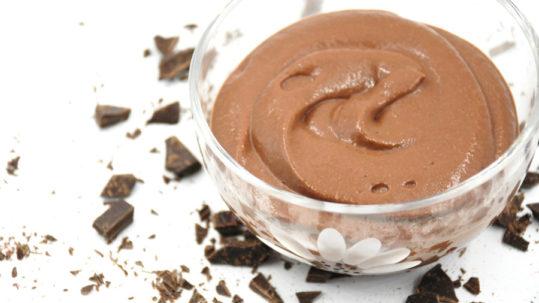 crema con cioccolato e melanzane